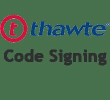 Thawte Code Signing